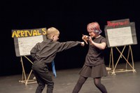 P5 Performing at the REP